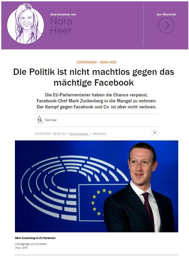 Facebook Mai